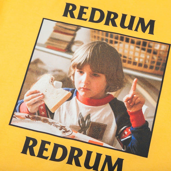 The Shining Danny Redrum Yellow Tee