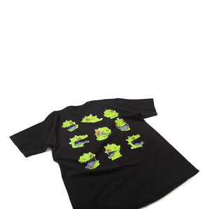 Rugrats Reptar Faces Tee