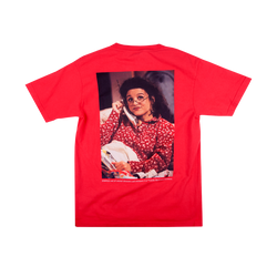 Seinfeld Elaine in Bed Red Tee
