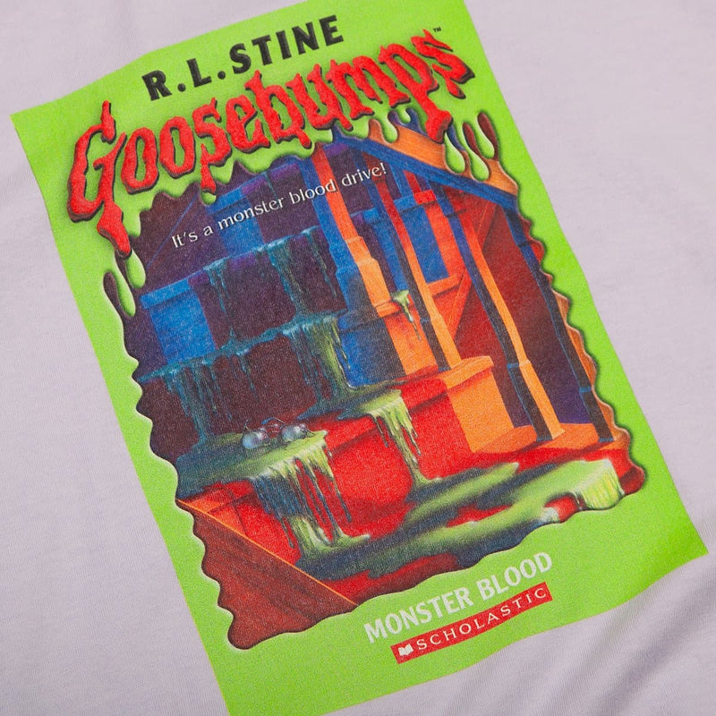 SS Goosebumps Monster Blood Tee Lavender