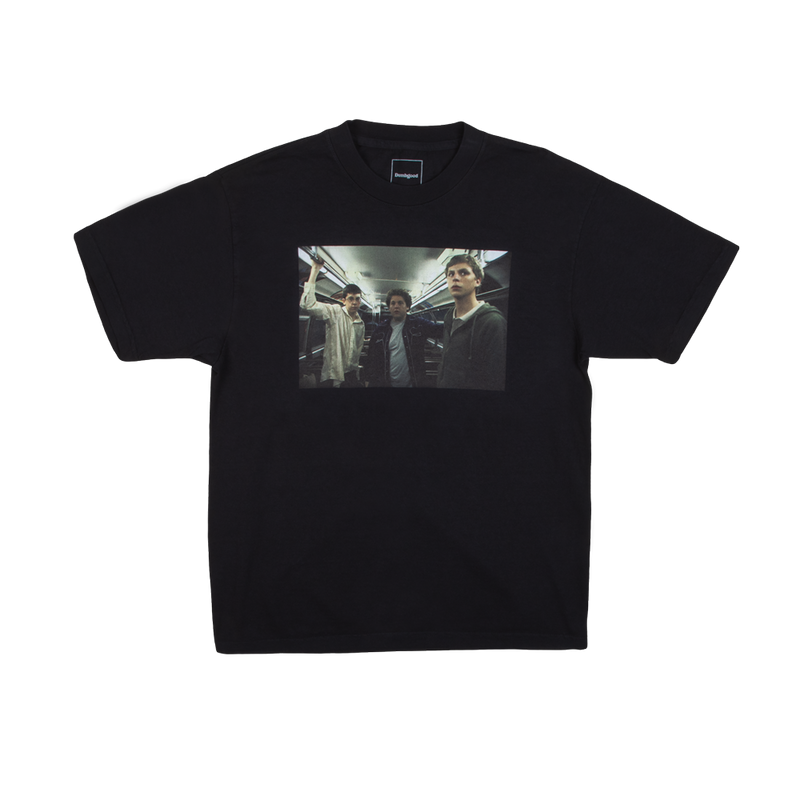 Dumbgood Superbad Fastest Kid Alive Black Tee