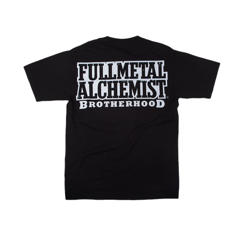 Full Metal Alchemist Brothers Black Tee