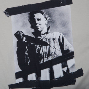 SS Halloween Tape Tee Cement