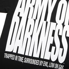 Army of Darkness Movie Poster Black Tee