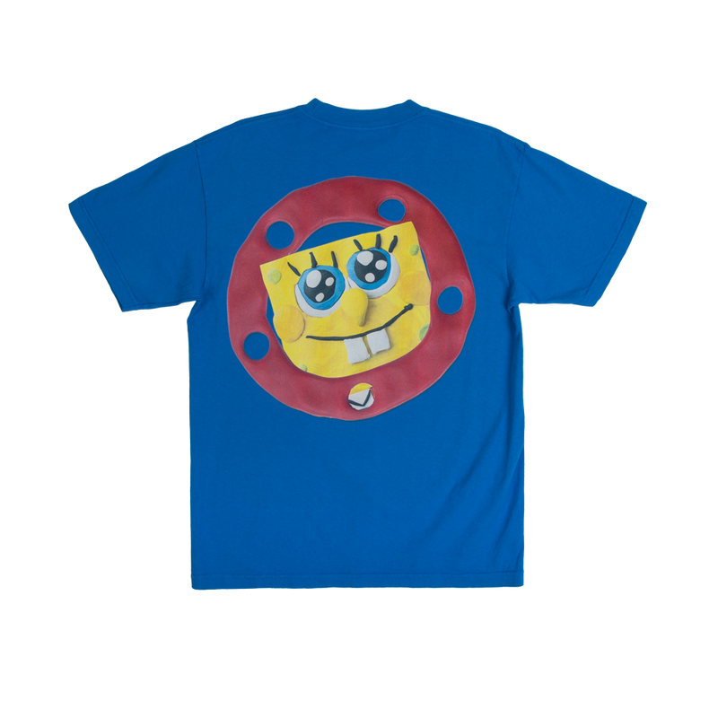 SpongeBob SquarePants Circle Blue Tee