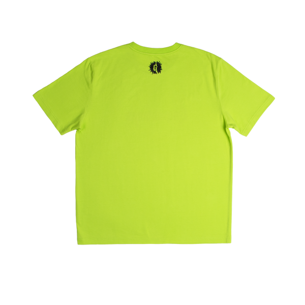 Goosebumps Lime Green Logo Tee