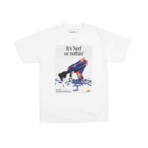 Nerf or Nothin' White Tee