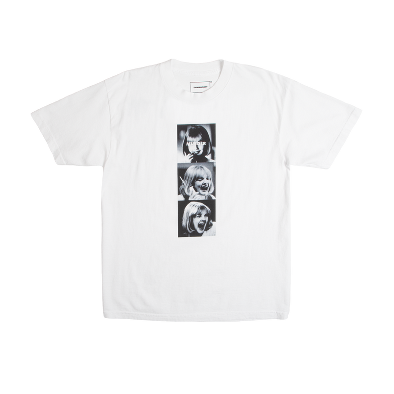 Scream Murder White Tee