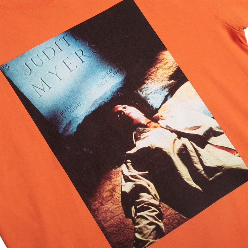Halloween Headstone Orange Tee