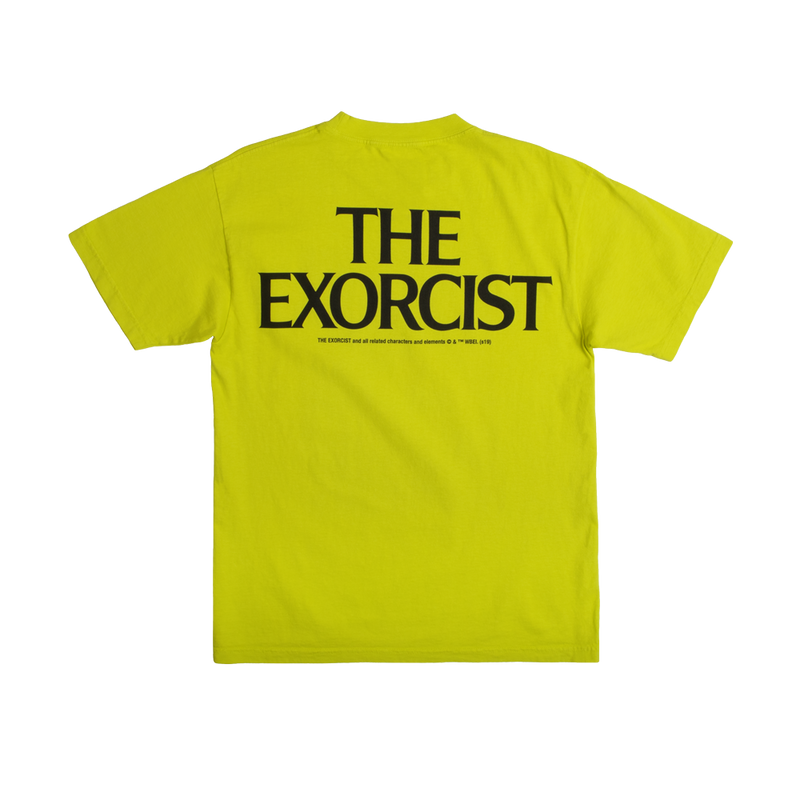 The Exorcist Upchuck Lime Tee