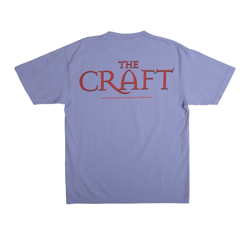 The Craft Light as a Feather Violet Tee