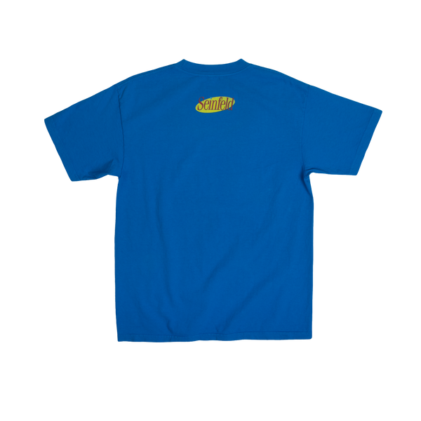 Seinfeld Angry Newman Blue Tee