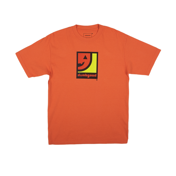 Dumbgood Jack-O-Lantern Orange Tee