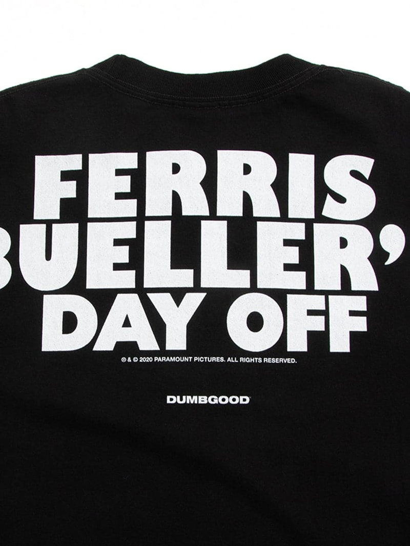 Ferris Bueller's Day Off Cameron Egypt Land Black Tee
