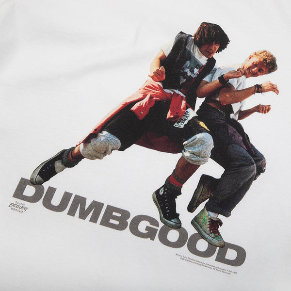 Bill & Ted Air Guitar White Tee