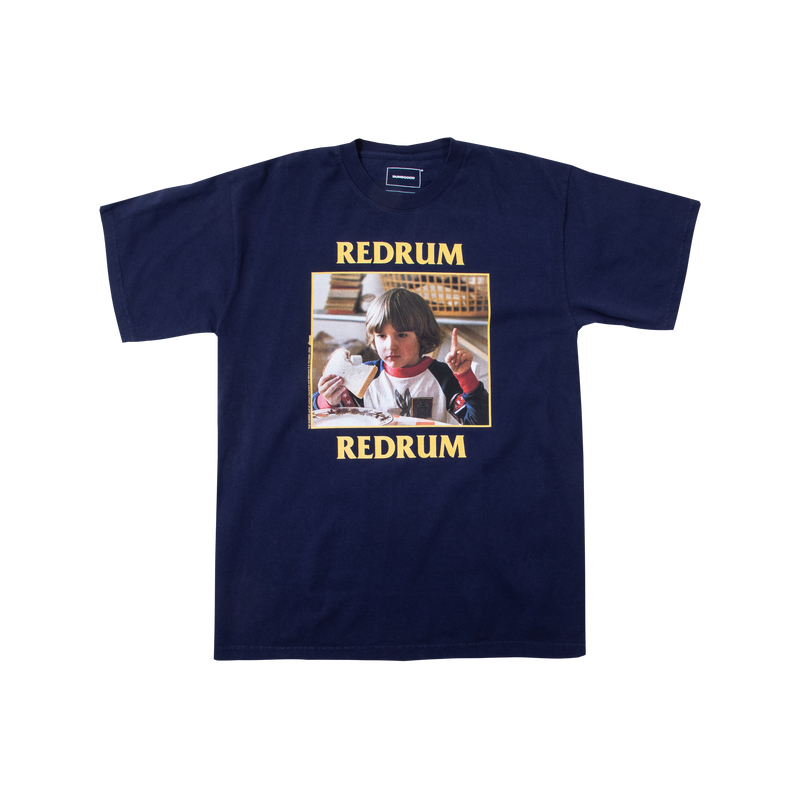 The Shining Danny Redrum Navy Tee