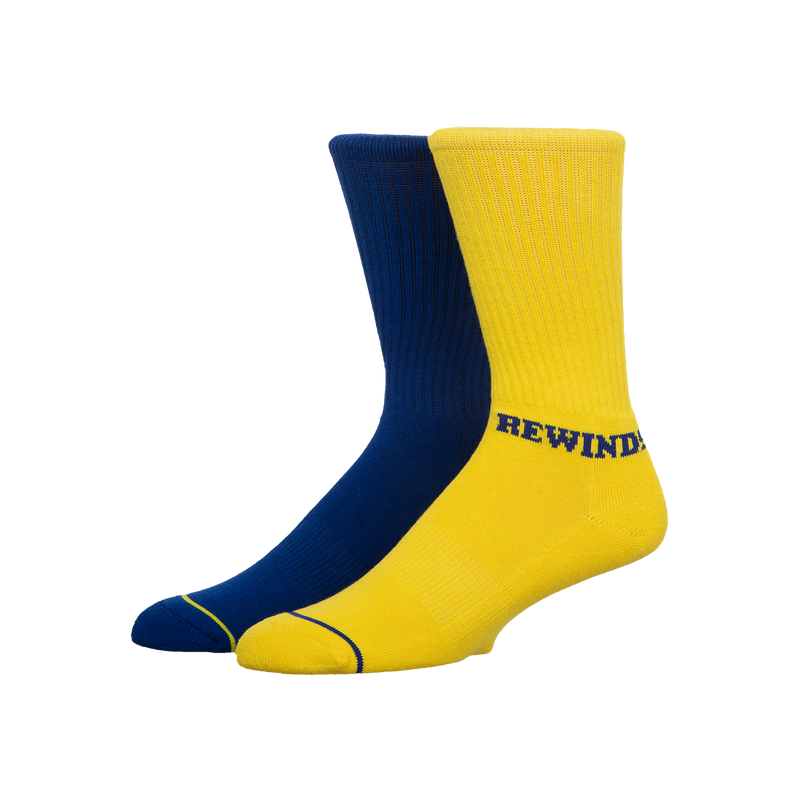 Blockbuster Be Kind Rewind Socks