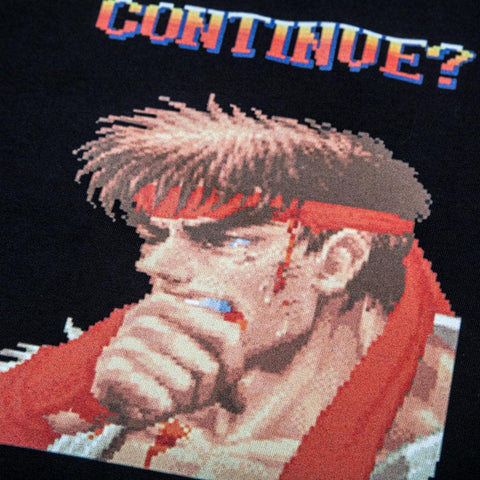 Street Fighter Continue Tee