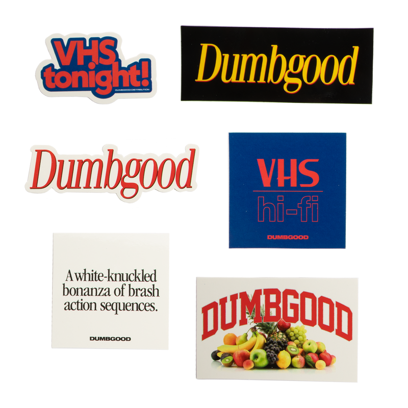 Dumbgood Hi-Fi Sticker Pack