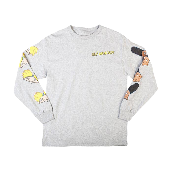 Hey Arnold! Athletic Heather Long Sleeve