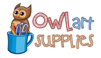 Owl Art Supplies