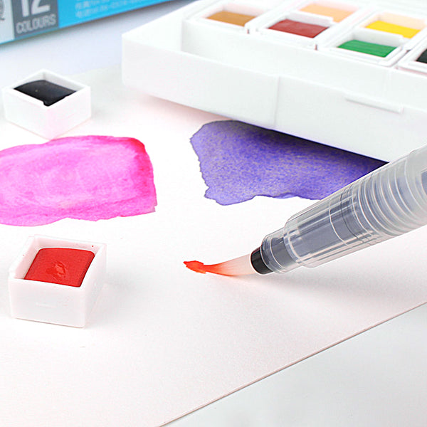 Watercolor Solid Pigment Painting Set