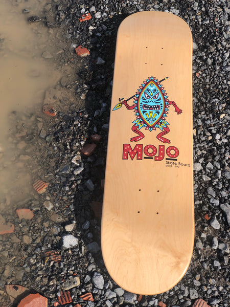 MOJO Man Skateboard Deck