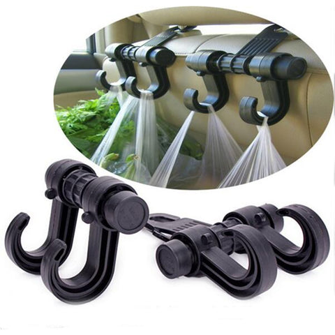 4 Pcs Car Headrest Hooks