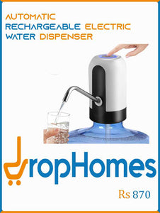 Automatic Rechargeable  Electric Water Dispenser