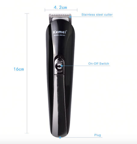 6 in 1 Rechargeable Hair Beard Trimmer