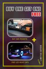 Buy  Car Ipockets and get  led valve caps free