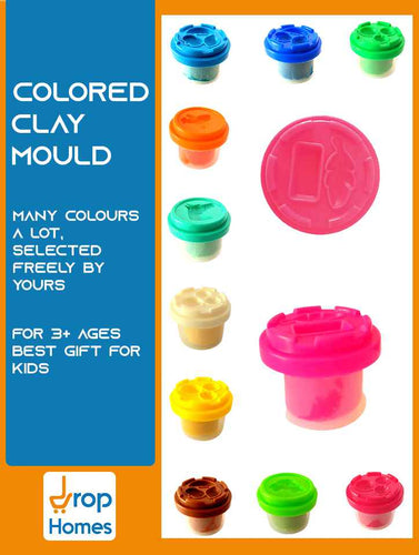Colored Clay Mould