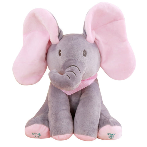 Peek-a-Boo Talking Elephant for Kids