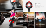 3 in 1 Car Phone Holder Cable