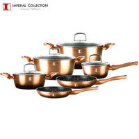 Imperial Collection IM-ST10-FMT: Ensemble de 10 Ustensiles de Cuisine en Aluminium