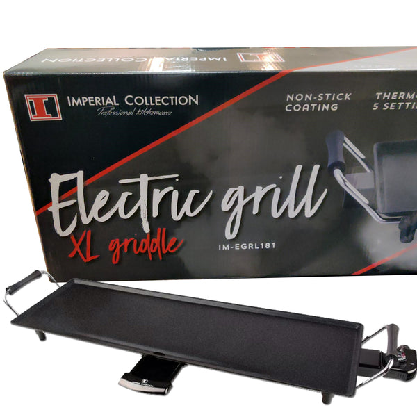 Gril électrique extra plat.  Imperial Collection IM-EGRL180