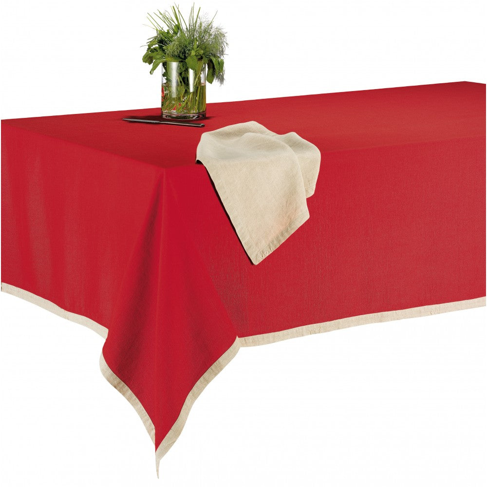 Nappe Victory Coquelicot 170 X 170