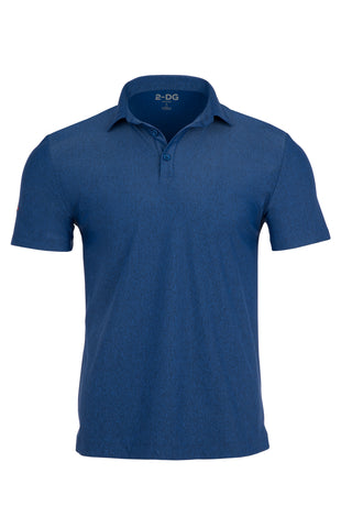 Men's Mélange Shirt in Blue | 2-DG