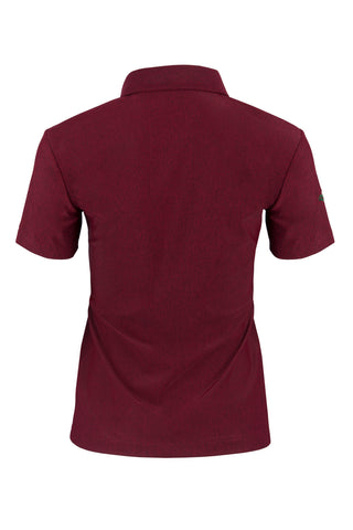 Women's Mélange Short Sleeve Polo