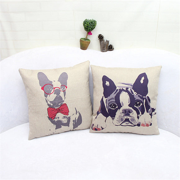 Vintage Decorative Pillow Covers - Swag for My Dog