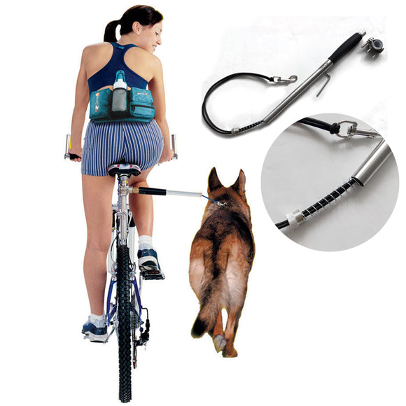 Bicycle Exerciser Leash Attachment | Hands Free Distance Keeper - Swag for My Dog