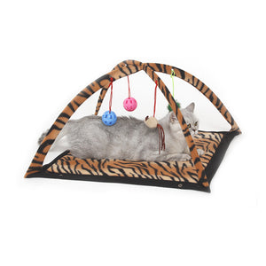 Rogue Cat Bed with Toys and Mobile Activity - Swag for My Dog
