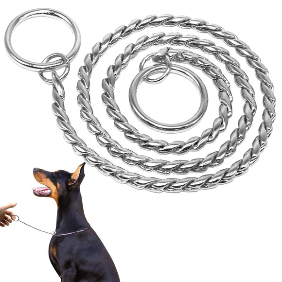 Dog Training Collars | Metal Slip Chain - Swag for My Dog