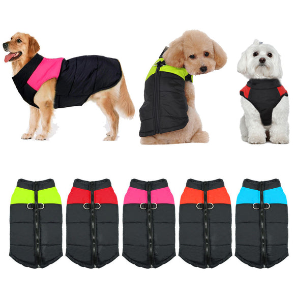 Waterproof Winter Dog Vest - Swag for My Dog