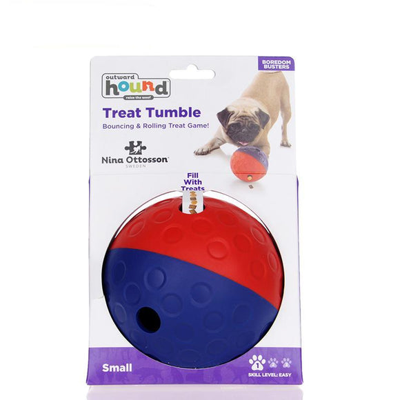 HOOPET Pets Dog Tumbler Leakage Food Toy Ball Puppy Training Exercise Fun Two Colors - Swag for My Dog