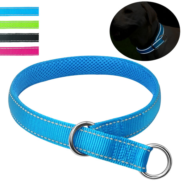 Reflective Nylon Safety Dog Collars - Swag for My Dog