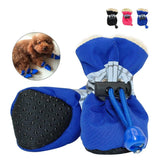 4 Piece Waterproof Dog Shoes | Reflective Anti Slip Rain Boots - Swag for My Dog