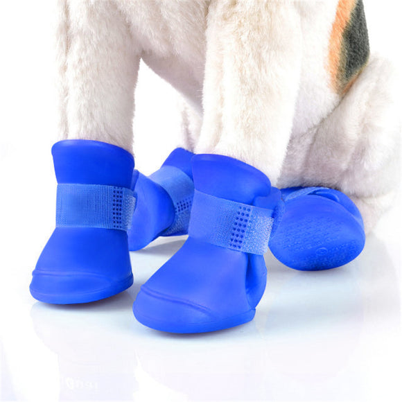 Cute Silicone Rain Boots | Waterproof Anti-Slip Dog Shoes - Swag for My Dog