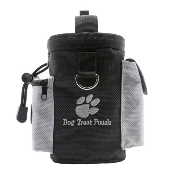 Portable Pet Dog Treat Pouch Dog Training Treat Bags Pet Feed Pocket Pouch Puppy Snack Reward Waist Bag Oxford Pockets 8F10 - Swag for My Dog