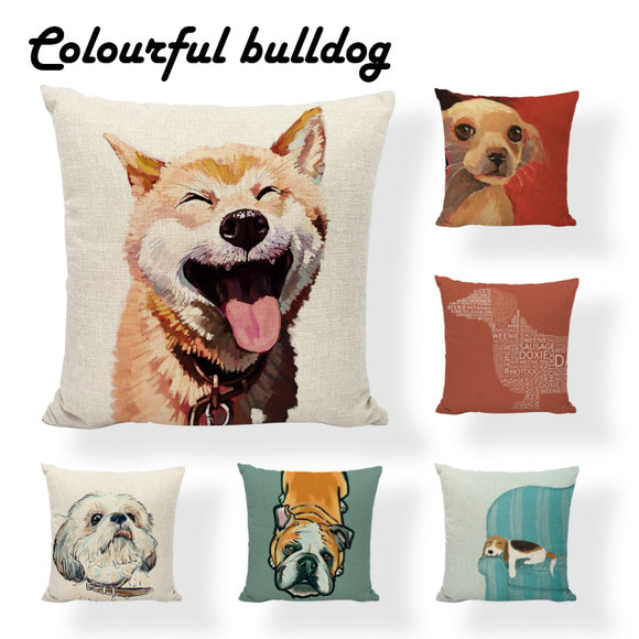 Square Pooch Pillow Cover - Swag for My Dog